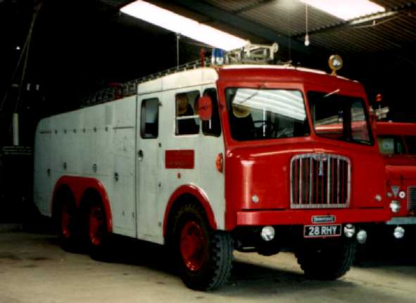 1962 Thornycroft Nubian HCB Angus Airfield Fire-Crash Tender 28rhy