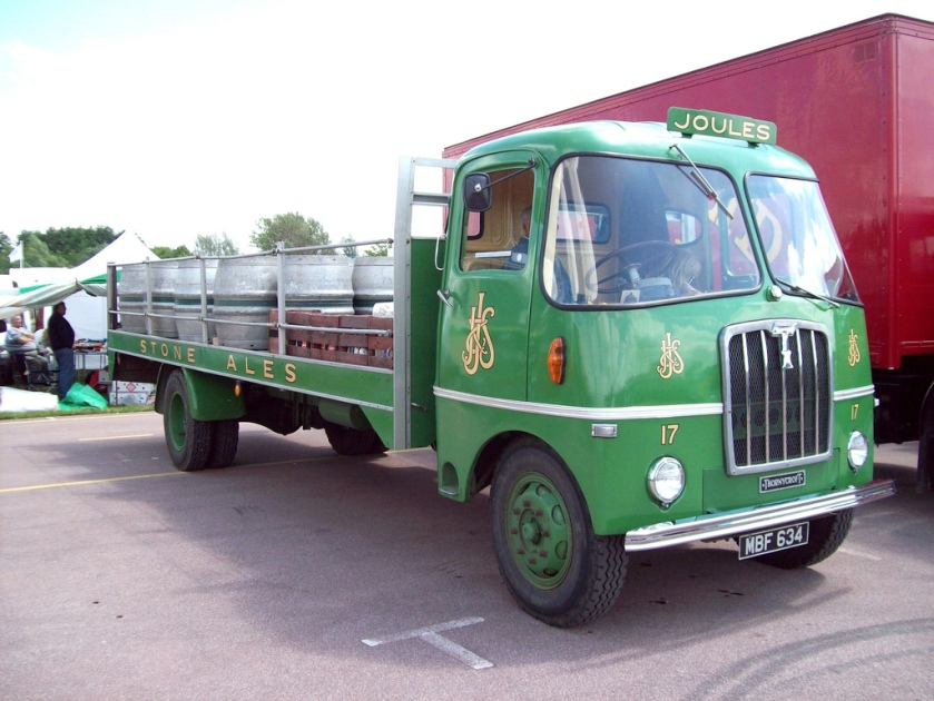 1962 Thornycroft Swiftsure Dray Engine 5400cc