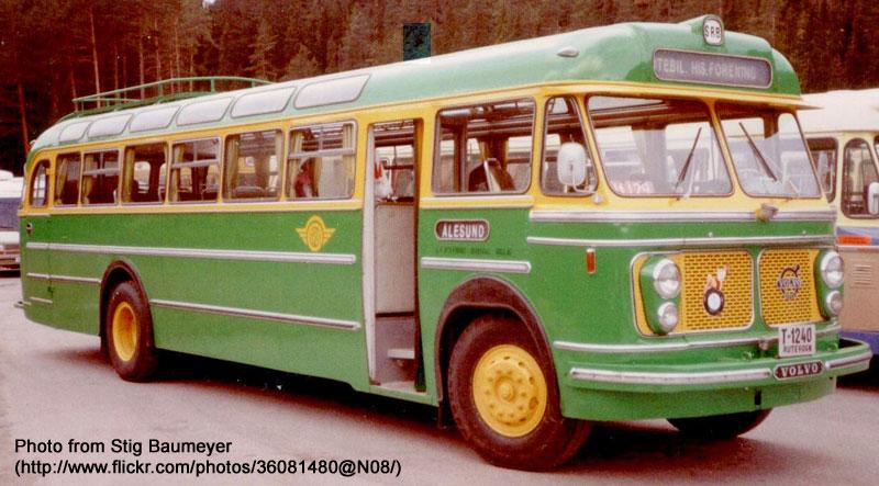 1962 Volvo B615