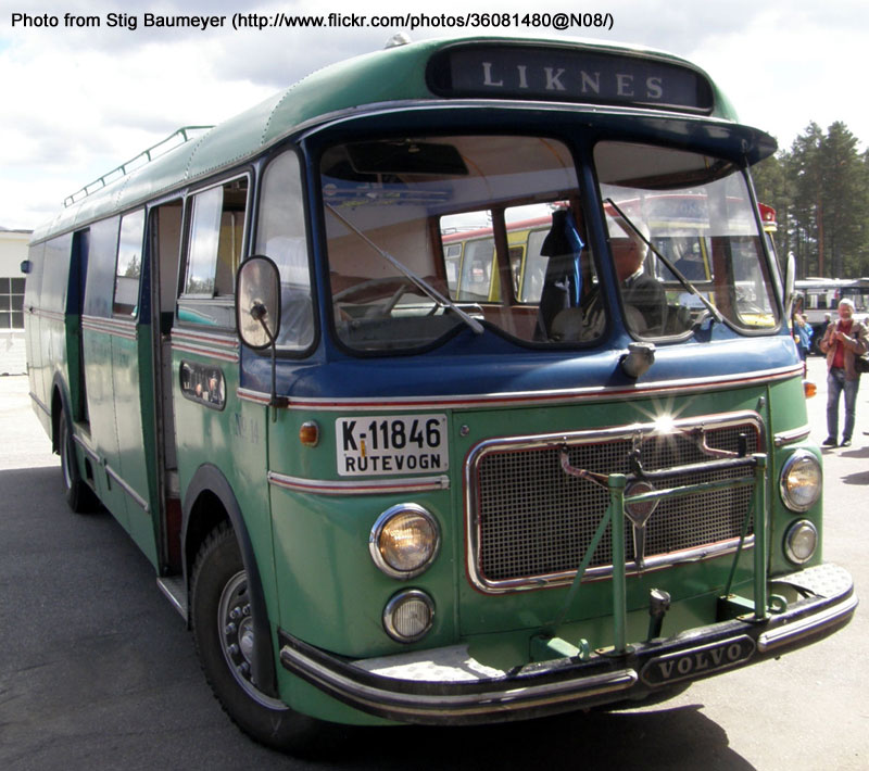 1962 Volvo B615a