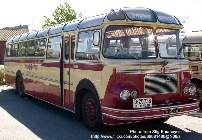 1962 Volvo B615b