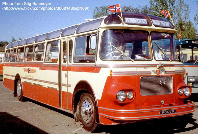 1962 Volvo B615c