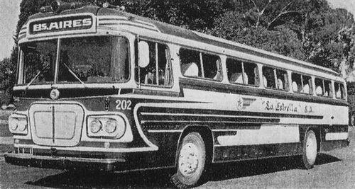 1962 Volvo B655 con motor central, carrozado por Cametal