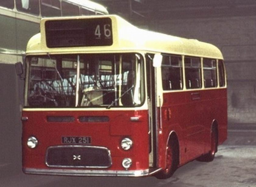 1963 Albion Nimbus NS3AN RJX-251 Weymann B31F