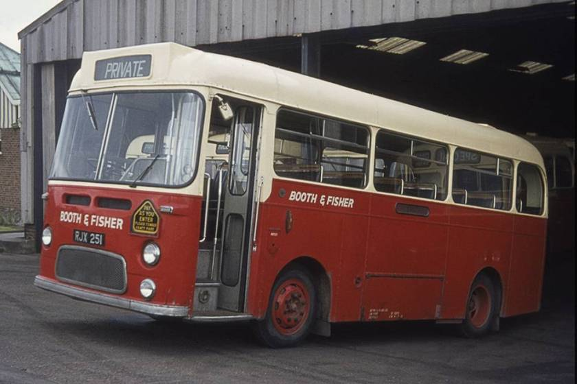 1963 Albion Nimbus NS3AN Weymann B31F