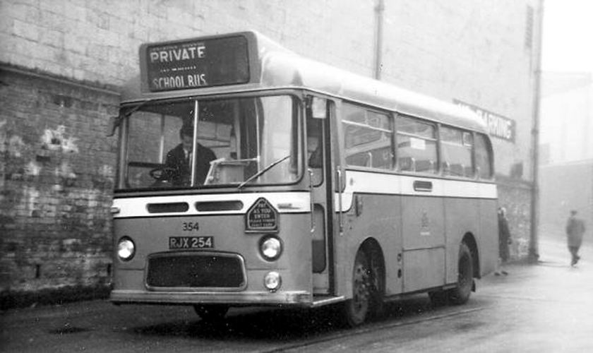 1963 Albion Nimbus NS3AN with a Weymann B31F body