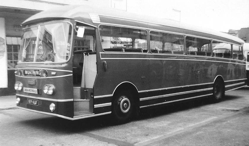 1963 Leyland Leopard PSU3-3RT with a Weymann 49 seat body