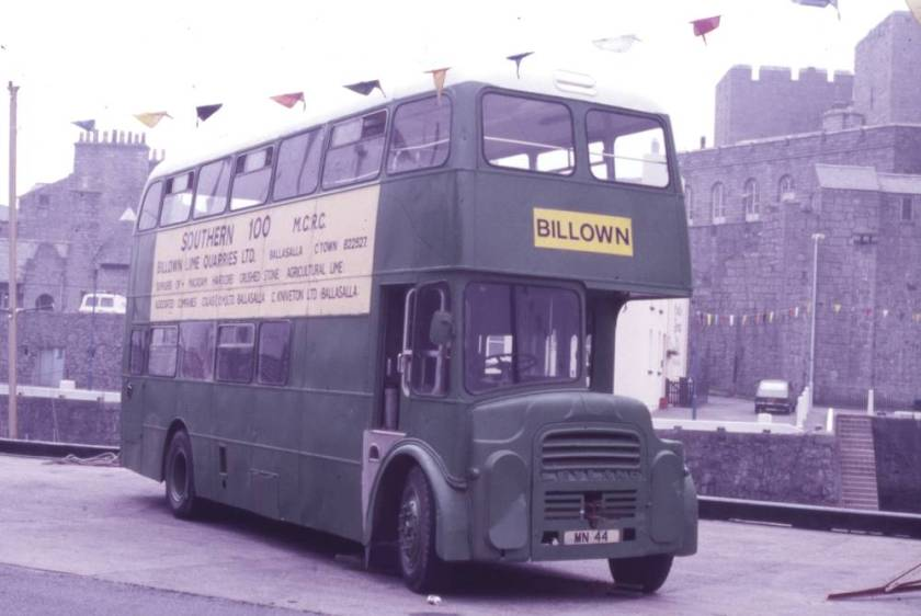 1963 Leyland Titan PD3A-1 from 1963 with Willowbrook H41-32F bodywork