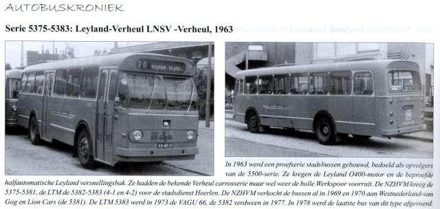 1963 Leyland Verheul » Leyland 5375 serie 5300