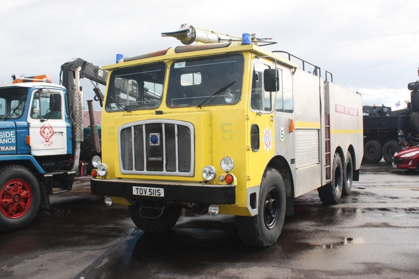 1963 Thornycroft Nubian Major - Fire engine - TOV 511S - Kemble 2010