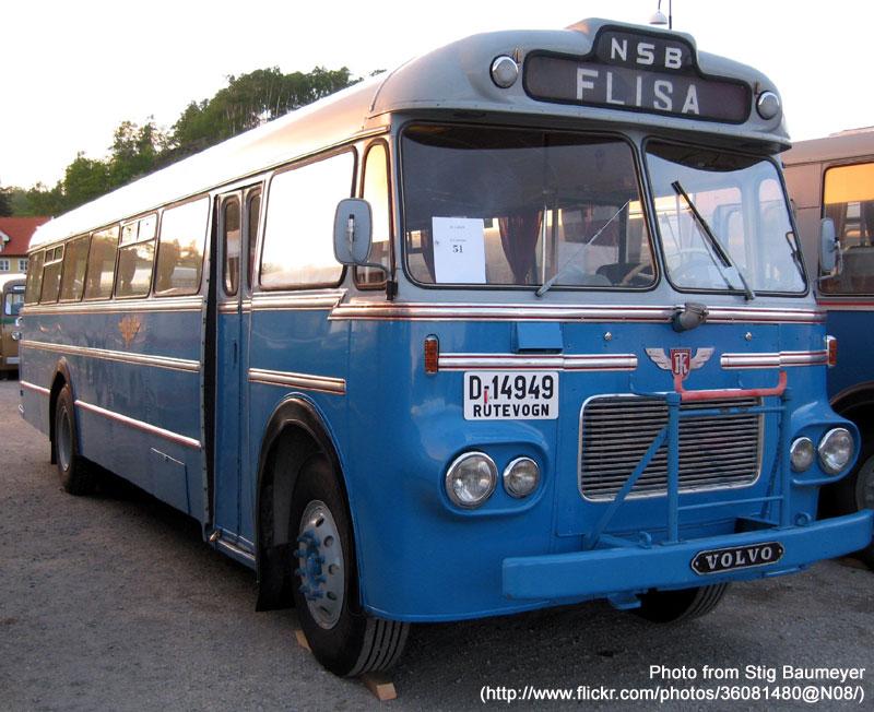 1963 Volvo B615a