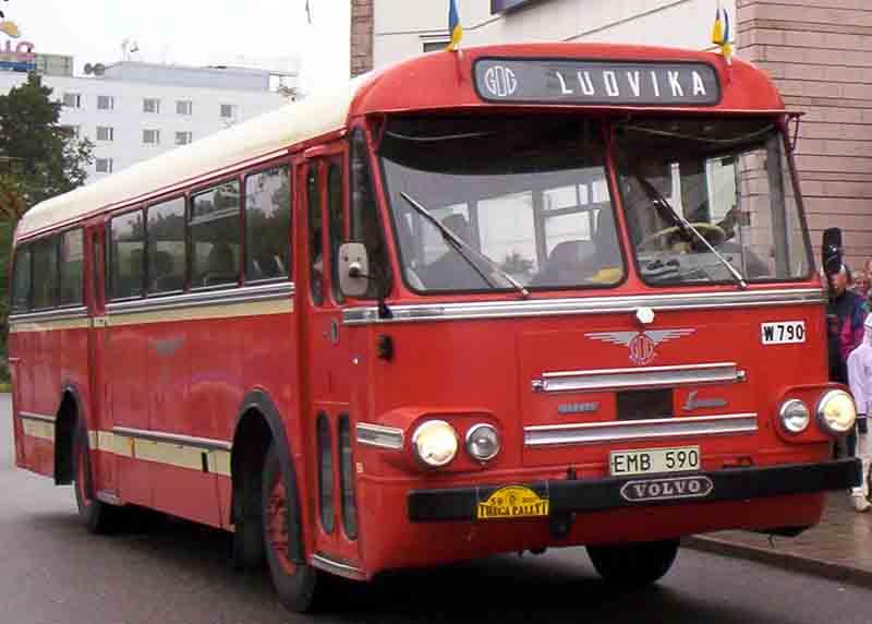 1963 Volvo B655 Bus