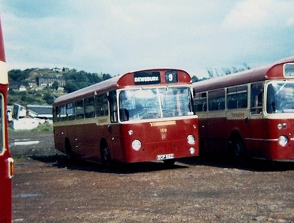 1963 Willowbrook bodied Leyland Leopard