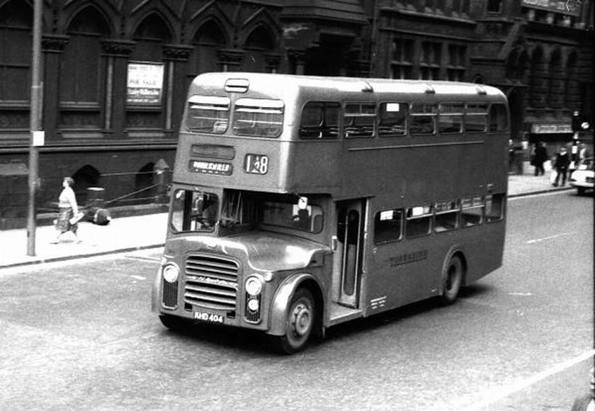 1964 Albion Lowlander LR7 with Weymann H72F body