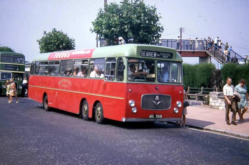 1964 Bedford VAL with Willowbrook B54F body