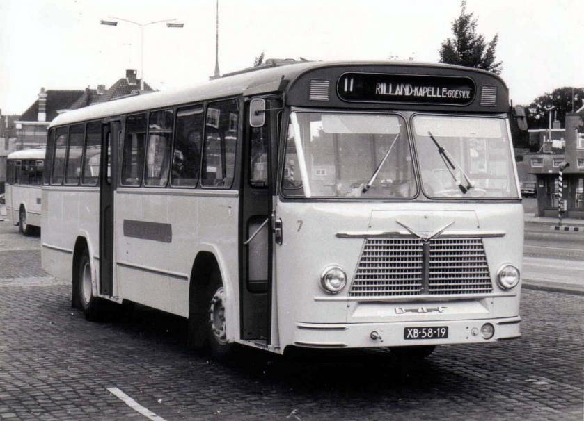 1964 DAF TB 160 carr. Verheul