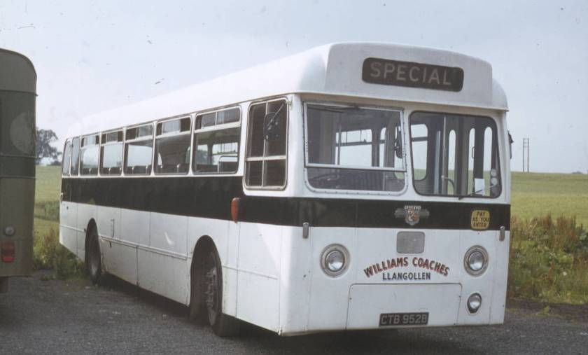 1964 Leyland Leopard PSU3-4R with Weymann B53F bodywork