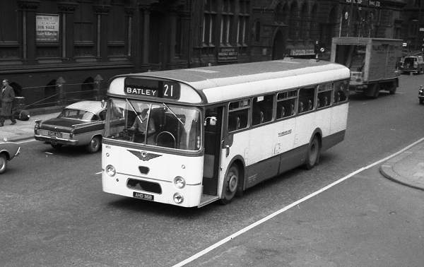 1964 Leyland PSU3-1 with Weymann B53F body