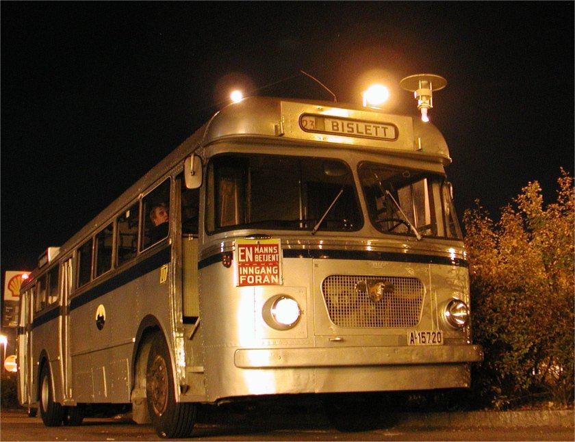 1964 Leyland Worldmaster with body from Norwegian VBK a15720 klofta