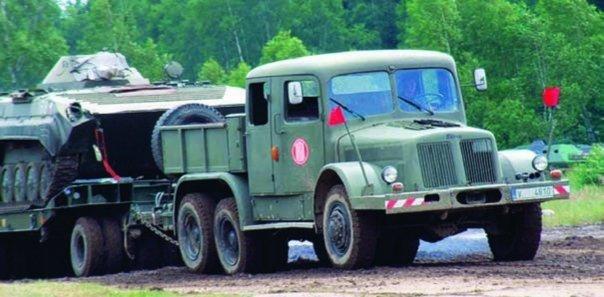 1964 Tatra-141А, 6x6