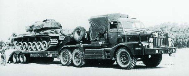 1964 Thornycroft Mighty Antar Mk-III (FV-12004), 6x6