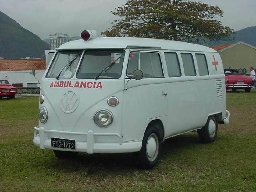 1964 VW BUS AMBULANCE VINTAGE 1964 Rio de Janeiro Brasil