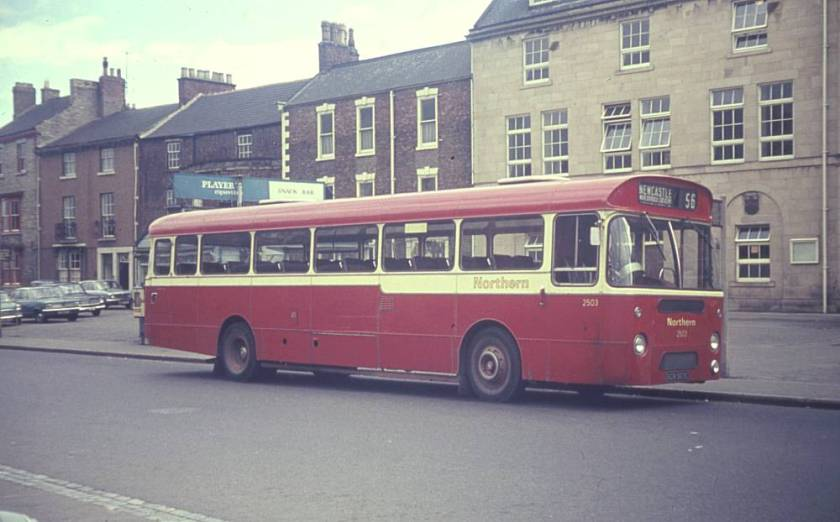 1965 A E C Reliance 2U3RA with Weymann DP49F bodywork