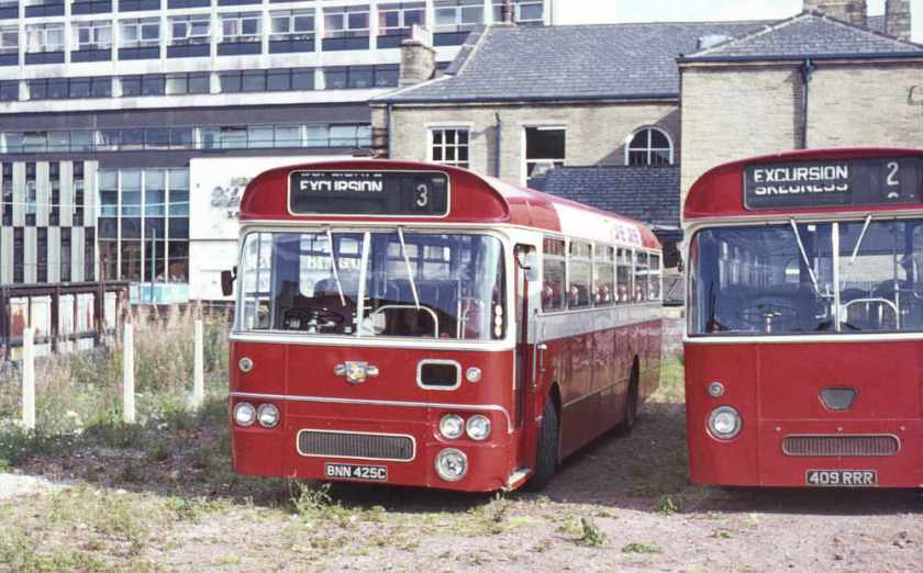 1965 Leyland Leopard PSU3-1R with Willowbrook B53F bodywork