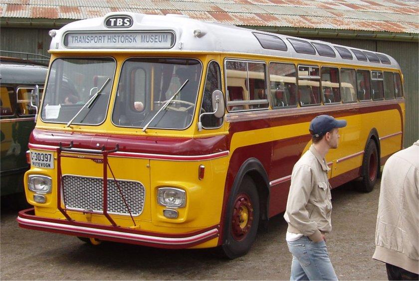 1965 Scania B76 63 med VBK-karosseri. c30397