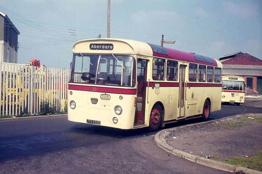 1966 AEC Reliances with Willowbrook B41D bodies
