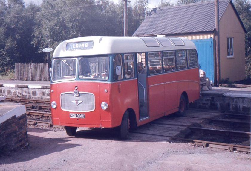 1966 Bedford VAS1 with Willowbrook B24FM bodywork
