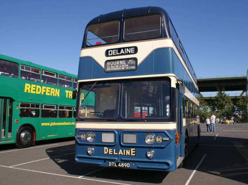 1966 Leyland Atlantean PDR1-2 with Willowbrook body