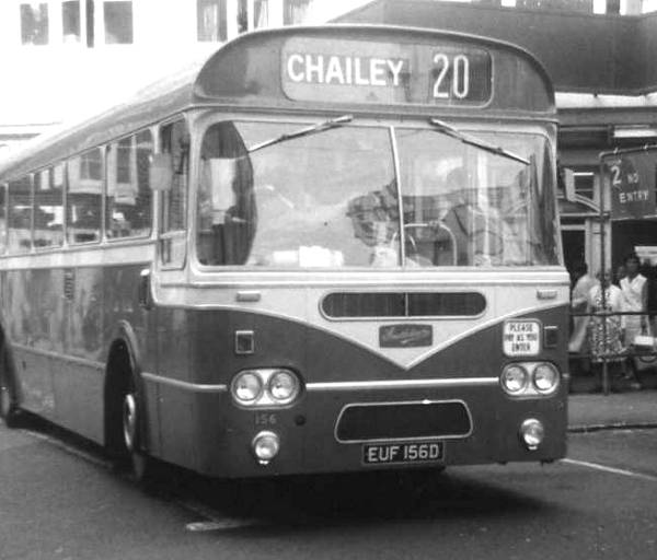 1966 Leyland Leopard PSU3-1R fitted with Weymann's version of the B45F 'Federation' bodywork