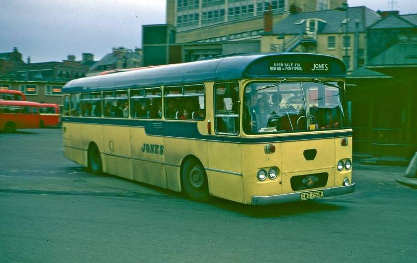 1966 Leyland Leopard PSU3-3R with a Willowbrook B53F body