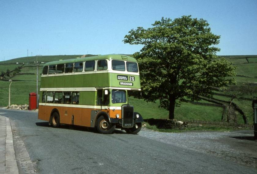 1966 Leyland PD2-37 with Weymann H36-28F body
