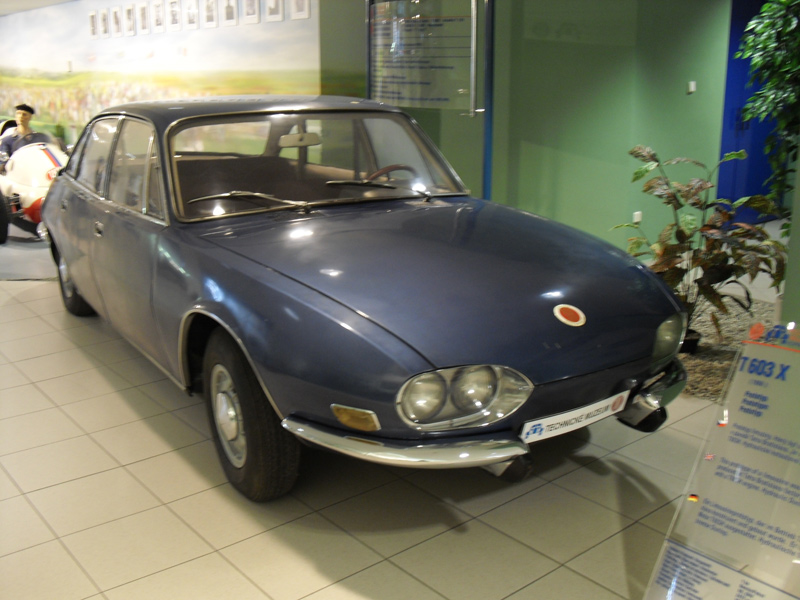 1966 Tatra T603X prototype
