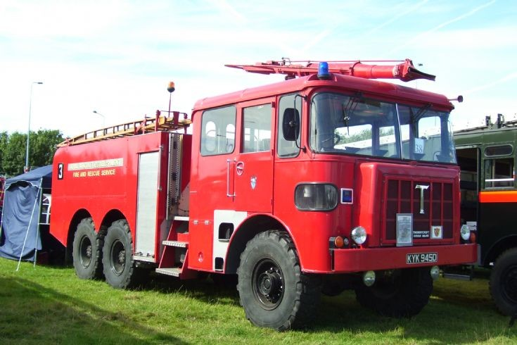 1966 Thornycroft Nubian Major Crash Tender