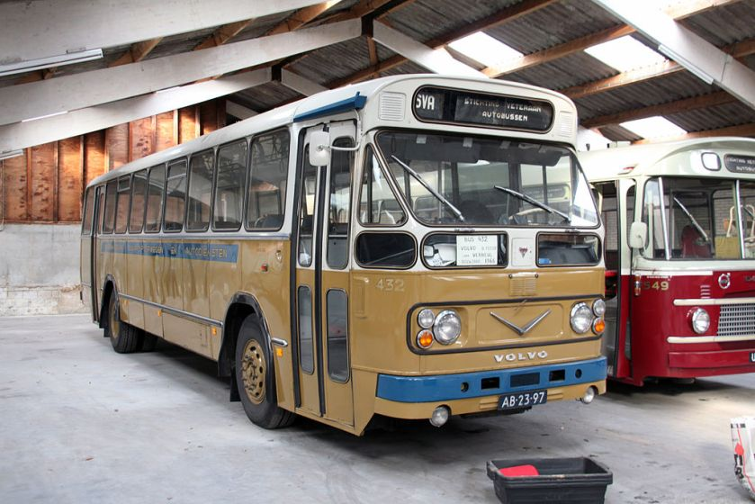 1966 Volvo-Verheul streekbus 4326, BBA, Breda.