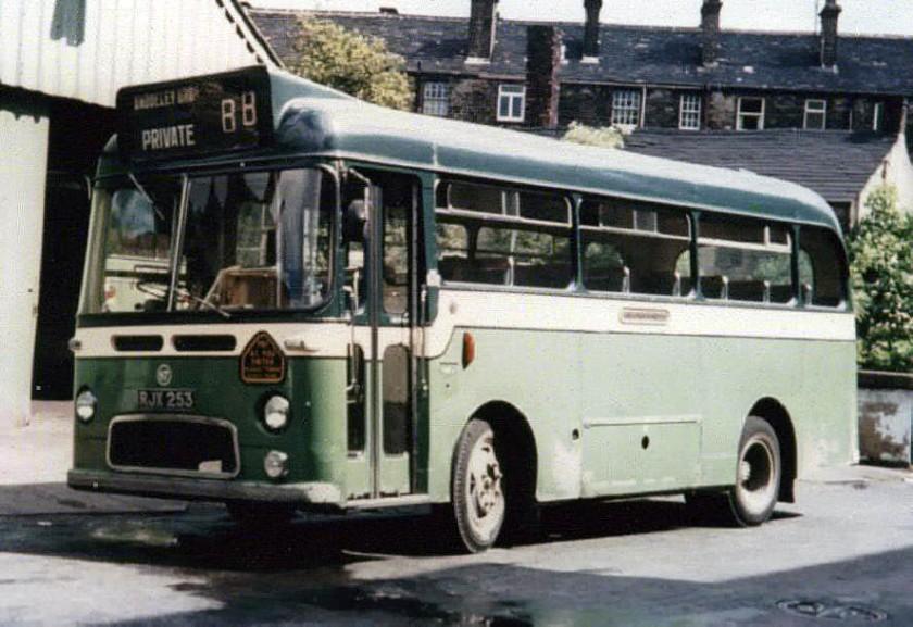 1967-75 Albion Nimbus NS3AN Weymann B31F seats