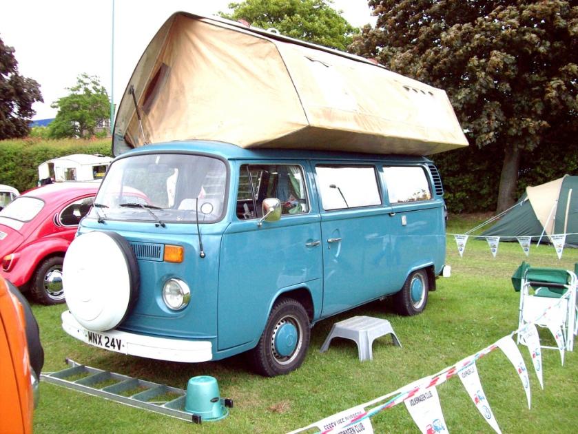 1967-79 Volkswagen Type 2 T2b Camper (Europe)