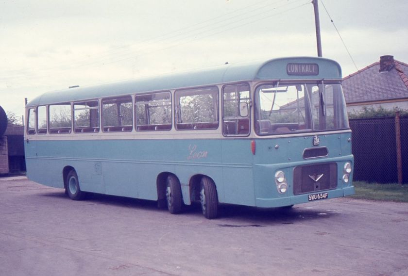 1967 Bedford VAL70 with Willowbrook B56F bodywork
