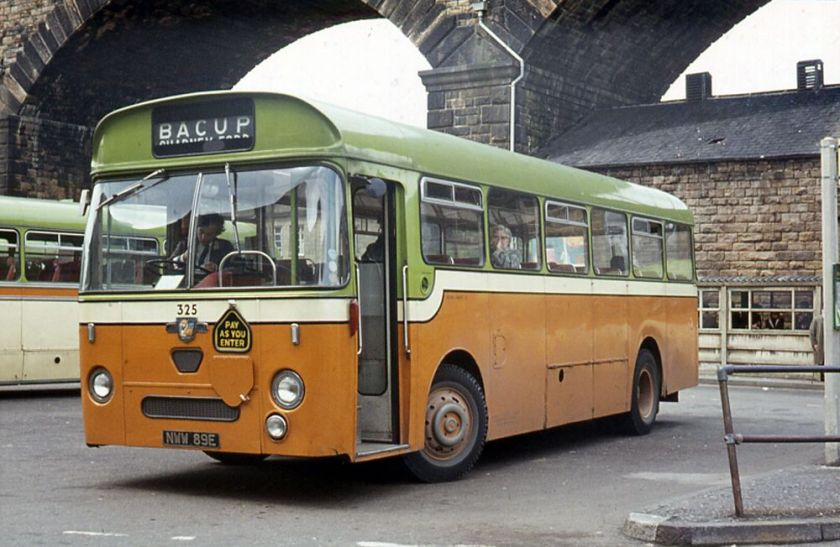 1967 Leyland L2 Leopard with a Willowbrook B43F body