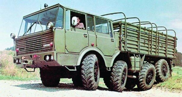 1967 Tatra-813 Kolos, 8x8