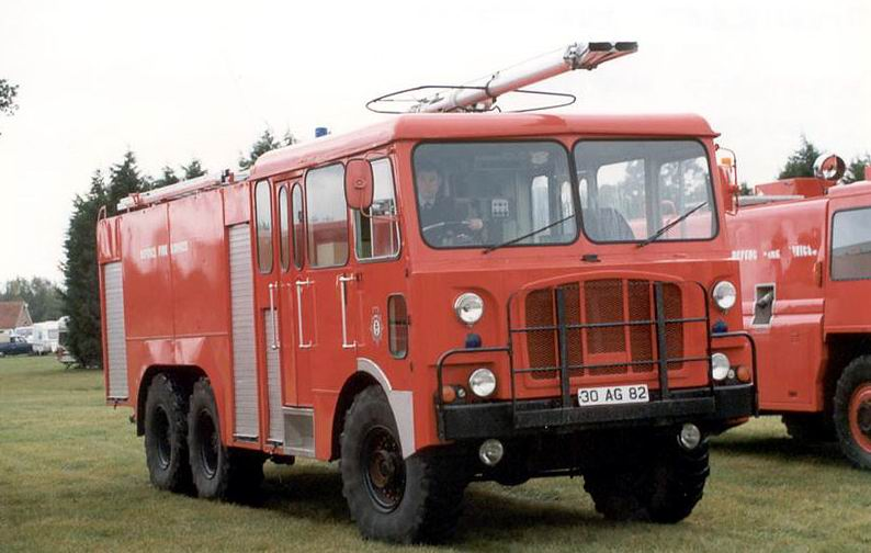 1967 thornycrcoft crashtender