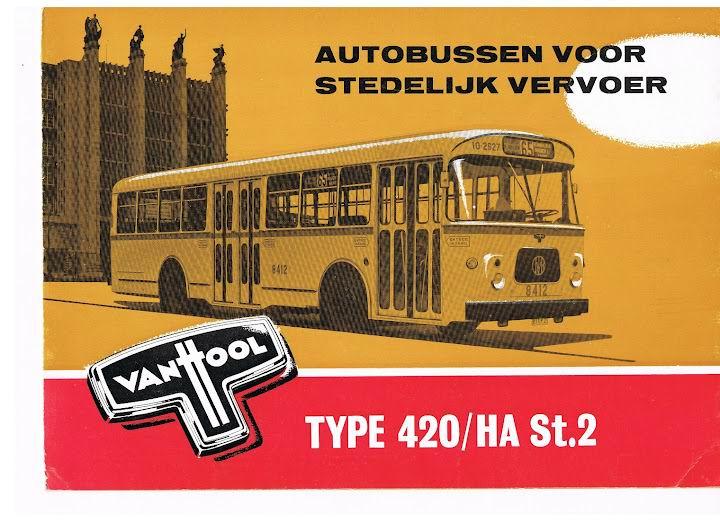 1967 VAN HOOL 420-HA St 2
