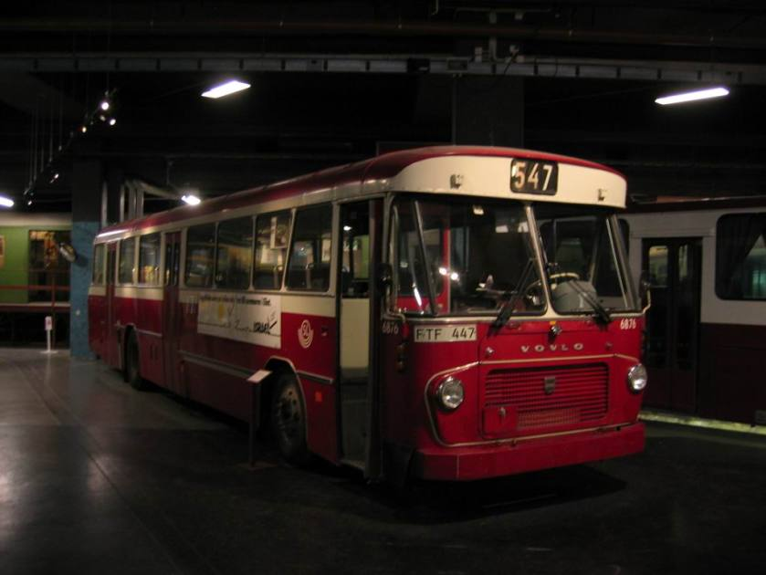 1967 Volvo bus Stockholm