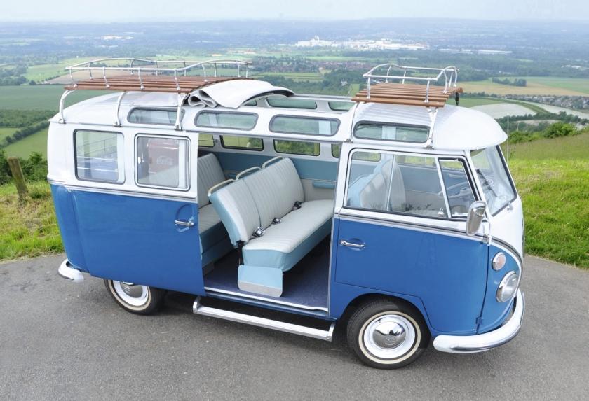 1967 VW Blue-Samba