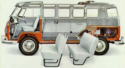 1967 VW Bus Samba (Bulli) 4cyl boxer b