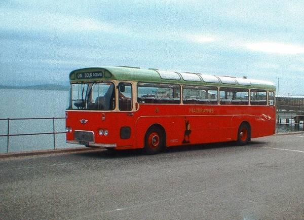 1967 Willowbrook DP49F bodied AEC Reliance