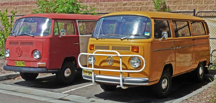 1968 1973 and 1973-1980 Volkswagen Kombi (T2) vans